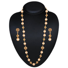 Load image into Gallery viewer, NS0118SR125G -AccessHer Traditional Ethnic Gold Plated Necklace Set with Pearls for women - access-her