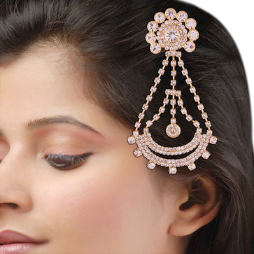 PS0118GC7209GW-AccessHer elegant gold plated paasa/ hair jewellery for women and girls - access-her
