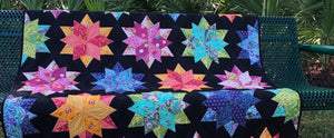 Nigh Sky Quilt Kit featuring Slow and Steady Fabrics by Tula Pink