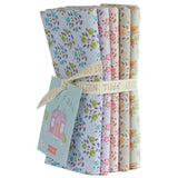 PRE-ORDER Tiny Farm Flowers and Blueberries FQ Bundle by Tilda