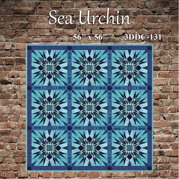 Sea Urchin Quilt Pattern