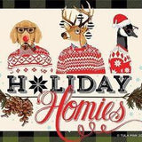 PRE-ORDER Holiday Homies Flannel Full Yard Bundle Plus Solids by Tula Pink