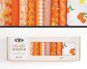 Tangerine Summer Color Master FQ Bundle