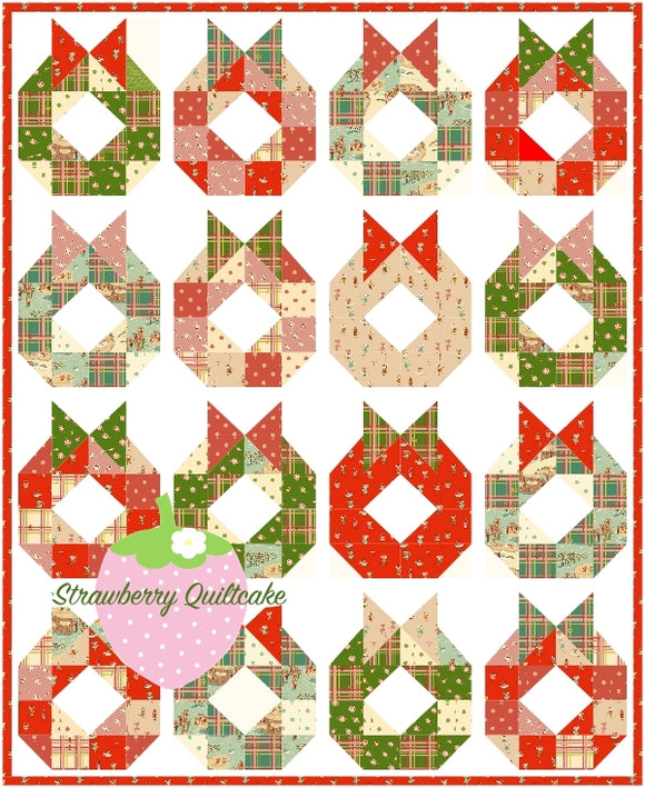 Deck The Halls Quilt Kit
