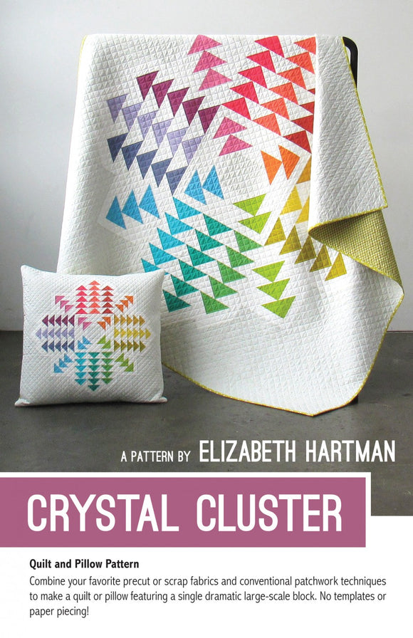 Crystal Cluster Quilt Pattern by Elizabeth Hartman