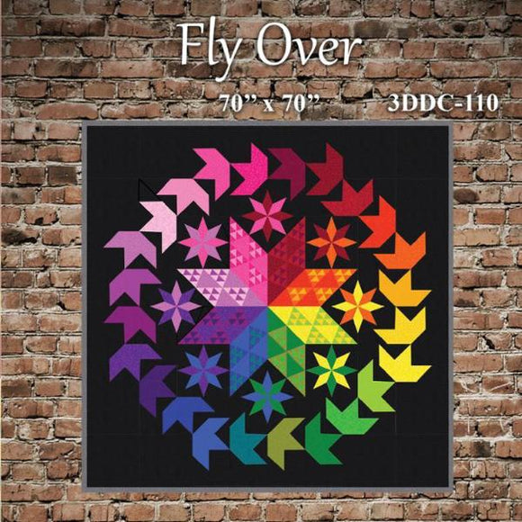 Fly Over Quilt Pattern