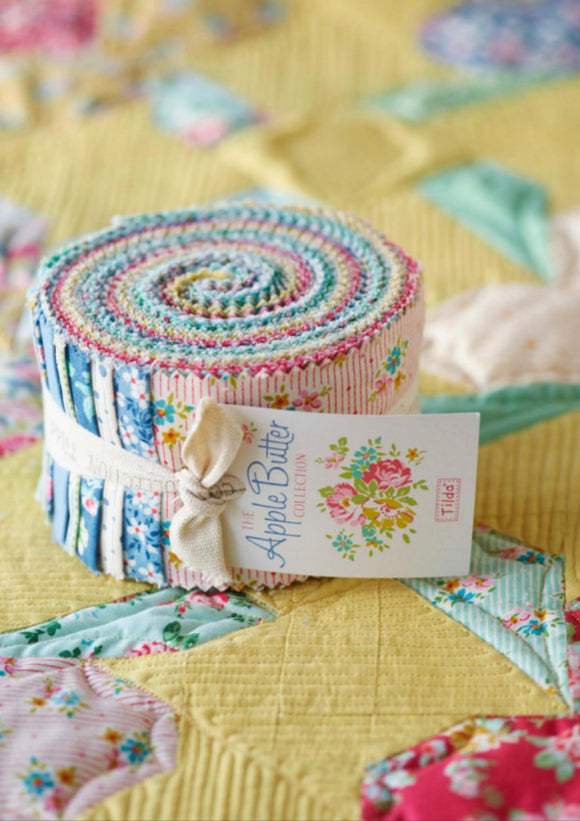 Apple Butter Fabric Roll Tilda