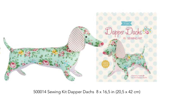 Dapper Dachshund Apple Butter Sewing Kit