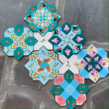 Custom for Amy Malibu Prudence Quilt Kit