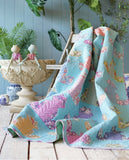 PRE-ORDER Puddle Frog Quilt Kit featuring GardenLife by Tilda