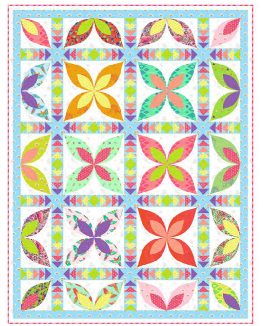PRE-ORDER Paradise Quilt Kit featuring Daydreamer by Tula Pink