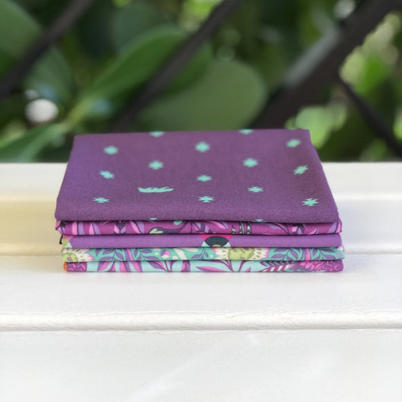 Spirit Animal Purple FQ Bundle