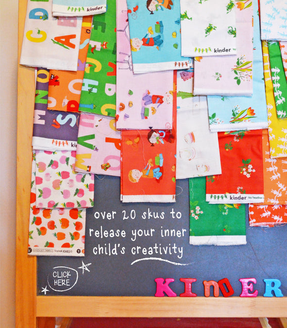 Kinder FQ Bundle by Heather Ross