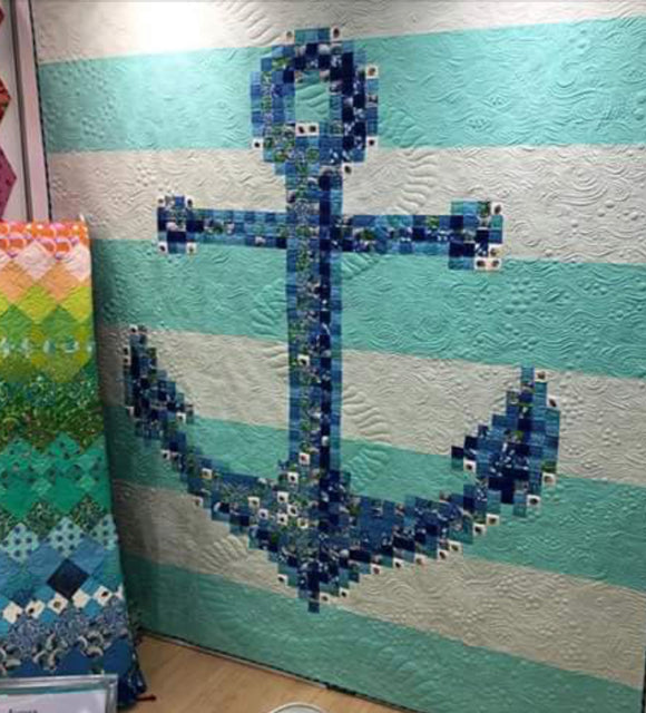 PRE-ORDER Anchors Aweigh Quilt Kit