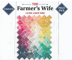The Farmer's Wife Sampler Quilt Complete Paper Piece Set