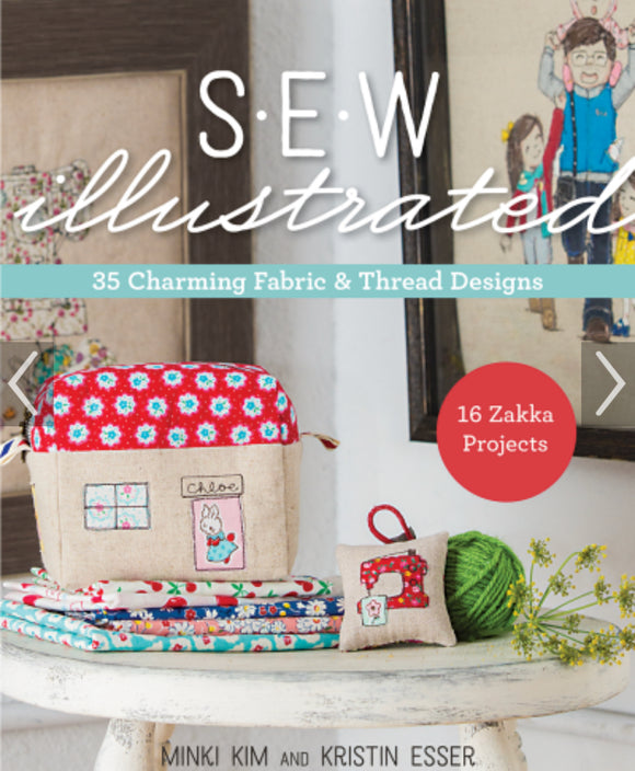 Sew Illustrated by Minki Kim