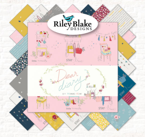 SALE Dear Diary FQ Bundle