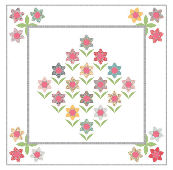 NEW Forest Flowers Quilt Kit