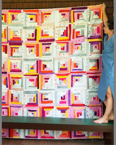 Log Cabin Quilt Kit