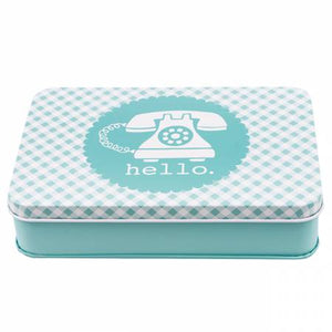 Lori Holt Sewing Tin Aqua