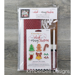 We Whisk You A Merry Christmas Embellishment Kit