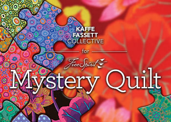 SALE Light Kaffe Fassett Mystery Quilt Kit