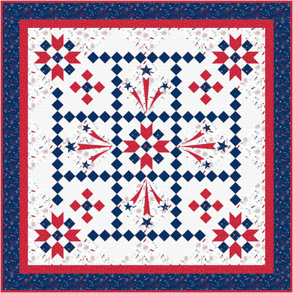 Pre-Order Liberty's Smile Quilt Kit