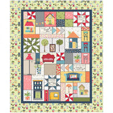 SALE Make Yourself At Home Quilt Kit W/ Embroidery CD
