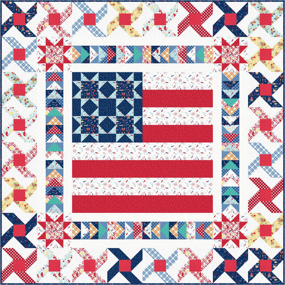 Pre-Order Small Town America Quilt Kit