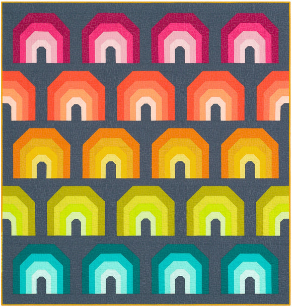 PRE-ORDER Polychromatic Quilt Kit by Elizabeth Hartman