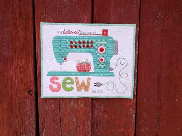 Sew She Did Quilt Kit