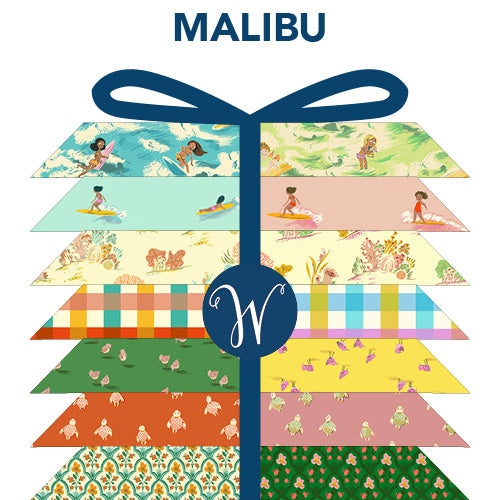 Malibu FQ Bundle by Heather Ross