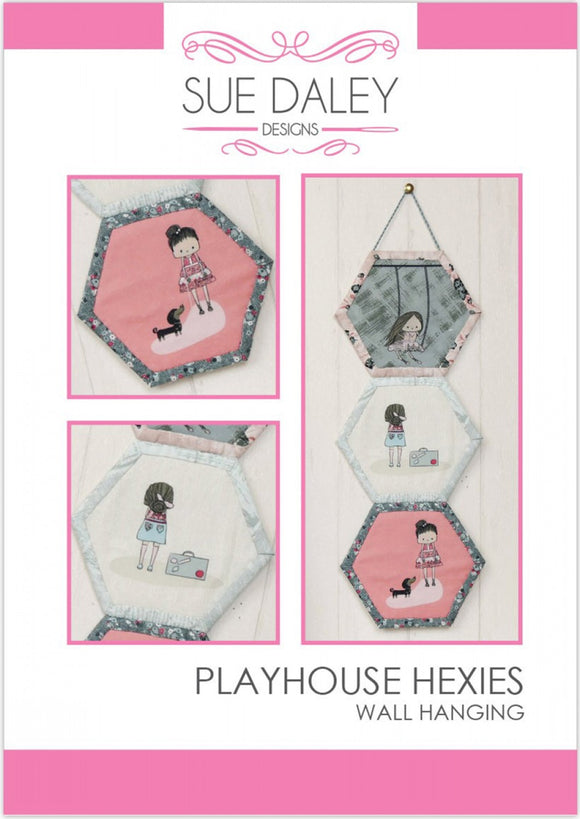 Playhouse Hexies Quilt Pattern