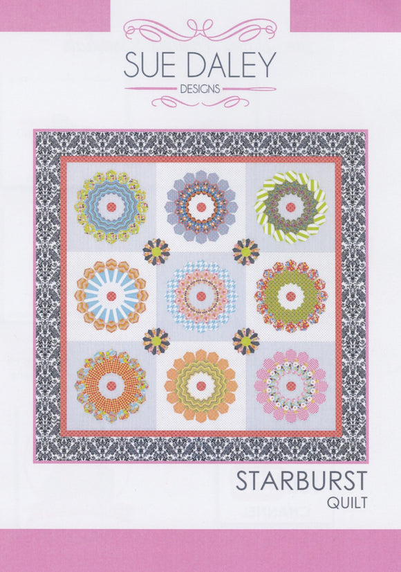 Starburst Quit Pattern by Sue Daley