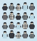 Penguin Party Quilt Kit