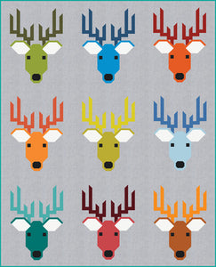 PRE-ORDER Dwight the Deer Quilt Kit