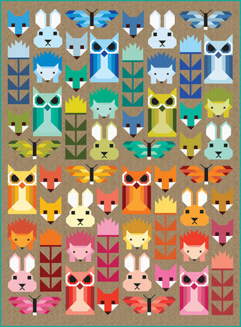PRE-ORDER Fancy Forest Quilt Kit