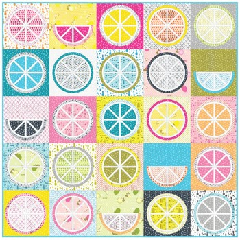 SALE Fruit Juice Quilt Kit