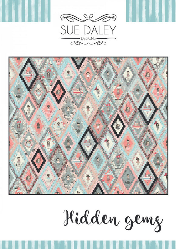 The Hidden Gems Quilt Pattern