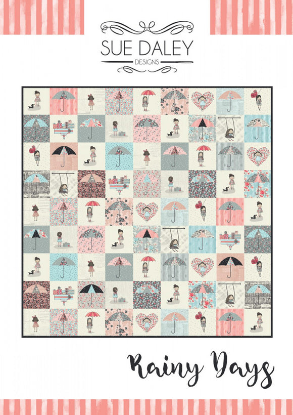 Rainy Days Quilt Pattern