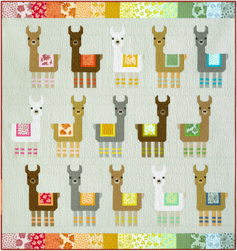 PRE-ORDER Little Llamas Quilt Kit