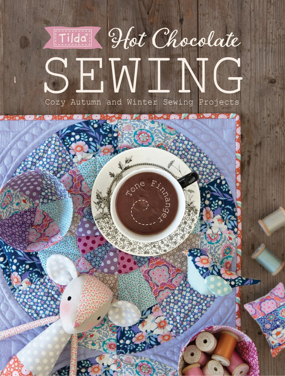Tilda Hot Chocolate Sewing Pattern Book