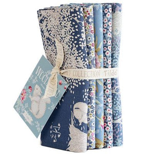 PRE-ORDER Woodland Blue FQ Bundle by Tilda