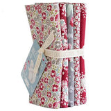 PRE-ORDER Woodland Red FQ Bundle by Tilda