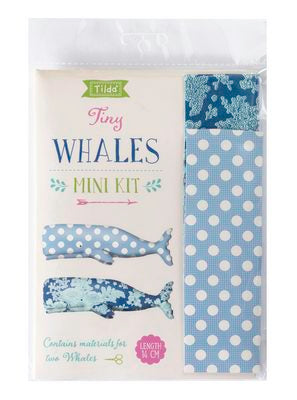 Tilda Sunkiss Tiny Whales Kit