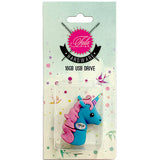 Tula Pink USB Unicorn Blue 16 gb