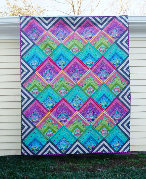Electric Slide Quilt Kit by Tula Pink