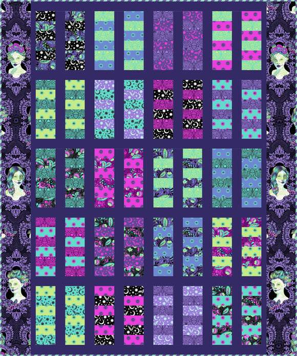 Witch Socks Quilt Kit