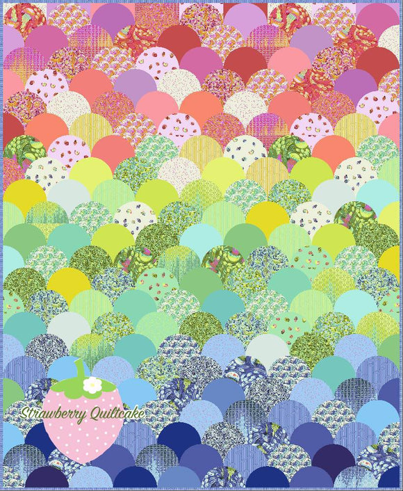 Glam Clam Quilt Kit