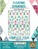 Floating Diamonds Pattern Set